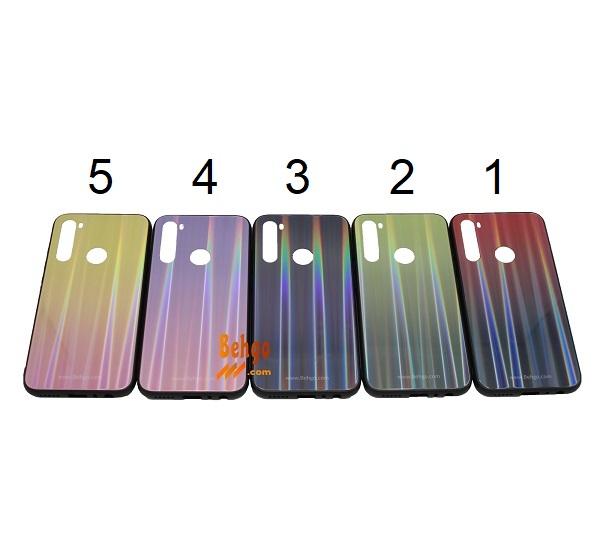 کاور ردمی نوت 8 شیائومی Xiaomi Redmi Note8 لیزری رنگی محافظ قاب ردمی نوت 8 شیائومی Xiaomi Redmi Note8 مدل لیزری گوشی Tempered Glass Laser Case Xiaomi Redmi Note 8