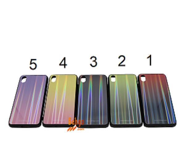 کاور ردمی 7A شیائومی / Xiaomi Redmi 7A لیزری رنگی محافظ قاب ردمی 7A شیائومی / Xiaomi Redmi 7A مدل لیزری گوشی Tempered Glass Laser Case Xiaomi Redmi 7A
