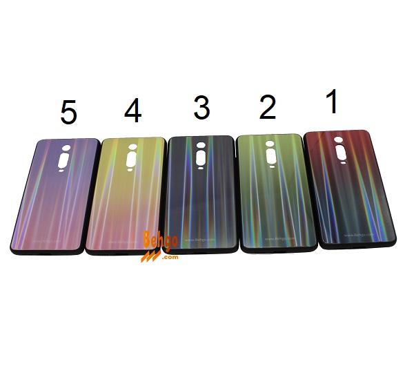 کاور شیائومی می 9 تی Xiaomi Mi 9T لیزری رنگی محافظ قاب شیائومی می 9 تی Xiaomi Mi 9T مدل لیزری گوشی Tempered Glass Laser Case Xiaomi Mi 9T/K20