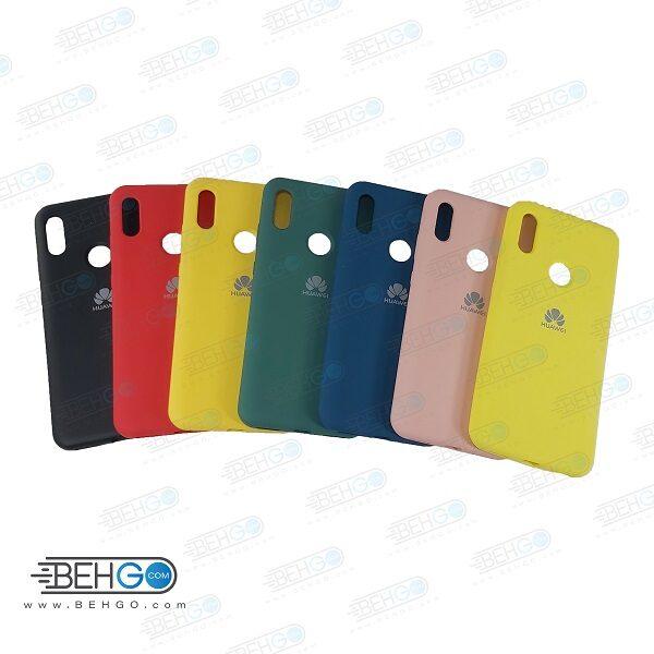 قاب گوشی هواوی y6 Prime 2019 کاور سیلیکونی هواوی Silicone Case Huawei Y6S / Honor 8a / Y6 2019