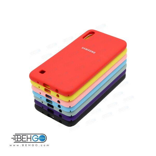 کاور محافظ A10 قاب گوشی آ 10 طرح سیلیکونی سامسونگ آ ده مناسب سامسونگ Silicone Case samsung A10