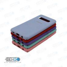 کاور محافظ s10 Plus قاب گوشی اس ده پلاس طرح سیلیکونی سامسونگ اس 10 پلاس مناسب سامسونگ Silicone Case samsung s10 Plus