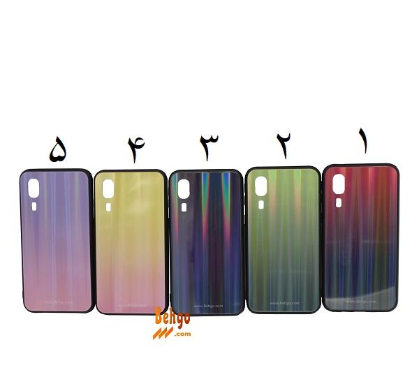 کاور A2 Core لیزری رنگی محافظ قاب سامسونگ گلگسی ای 2 کور مدل A2 Core SM-A260 مدل لیزری گوشی Tempered Glass Laser Case Samsung galaxy A2 core