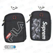 کیف موبایل ، لوازم و کیف پاور بانک مدل گائولما 9220A کیف کمری با خروجی هندسفری و کابل Gaolema 9220A Mobile Accessories Bag with handsfree output