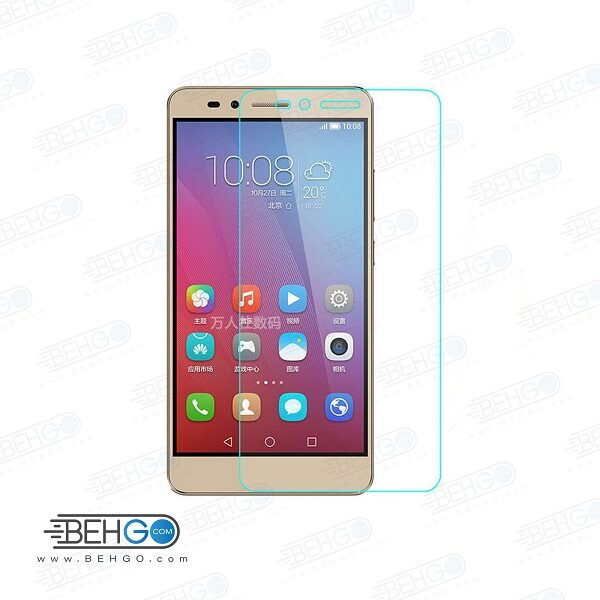 گلس آنر 5x بی رنگ و شفاف هواوی آنر 5 ایکس یا ,Honor 5x محافظ صفحه نمایش شیشه ای Glass Screen Protector huawei honor 5x