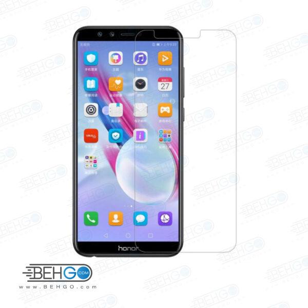 گلس آنر 9 لایت بی رنگ و شفاف هواوی honor 9 lite یا ,هونور نه لایت محافظ صفحه نمایش شیشه ای Glass Screen Protector huawei honor 9 lite
