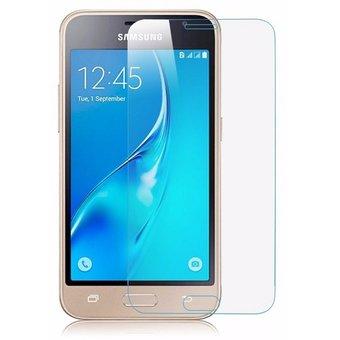 گلس بی رنگ و شفاف یا محافظ صفحه نمایش شیشه ای Glass Screen Protector samsung j1 mini prime