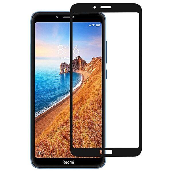 گلس ردمی 7 ای گلس فول مخصوص گوشی شیائومی redmi 7A محافظ صفحه نمایش شیشه ای Glass Screen Protector For Xiaomi Redmi7A/ Redmi 7 A
