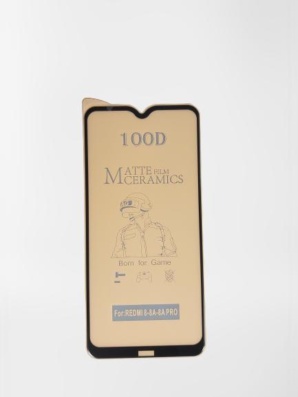 گلس مات ردمی 8 ای شیائومی با پوشش کامل محافظ سرامیکی مات اصلی شیاومی Redmi 8A انعطاف پذیر نشکن با چسب کامل محافظ صفحه نمایش نانو سرامیکی مات شیائومی Original Matte Nano Flexible Ceramic Full Coverage Screen Protector with Full Glue Anti Broken For Xiaomi redmi8 / Redmi 8 A