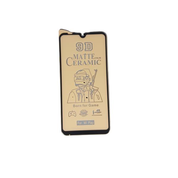 گلس مات می پلی شیائومی با پوشش کامل محافظ سرامیکی مات اصلی شیاومی Mi play انعطاف پذیر نشکن با چسب کامل محافظ صفحه نمایش نانو سرامیکی مات شیائومی Original Matte Nano Flexible Ceramic Full Coverage Screen Protector with Full Glue Anti Broken For Xiaomi Miplay