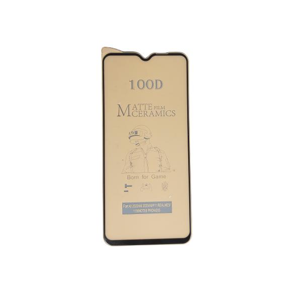 گلس مات A12 سرامیکی مات اصلی نشکن محافظ صفحه نمایش نانو سرامیکی مات Original Matte Nano Flexible Ceramic Full Coverage Screen Protector with Full Glue Anti Broken For samsung A12