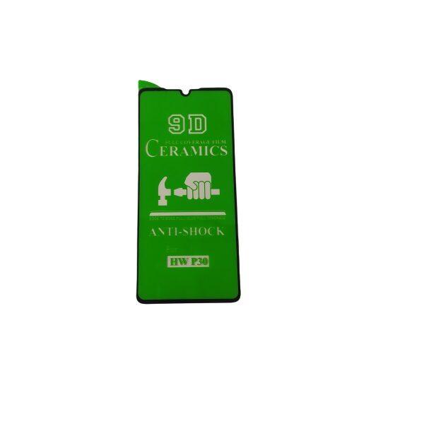 گلس هواوی p30 با پوشش کامل محافظ سرامیکی اصلی پی سی نانو p30 گلس انعطاف پذیر نشکن هواوی پی 30 با چسب کامل محافظ صفحه نمایش نانو سرامیکی هواوی Original Nano Flexible Ceramic Full Coverage Screen Protector with Full Glue Anti Broken For Huawei P30