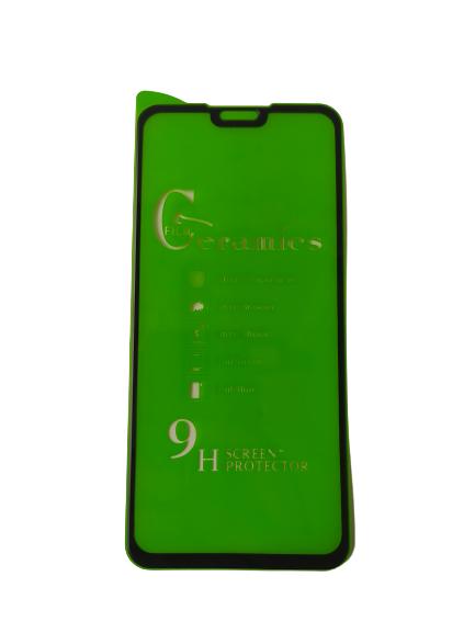 گلس هواوی y9 2019 با پوشش کامل محافظ سرامیکی اصلی آنر هشت ایکس نانو وای نه 2019 گلس انعطاف پذیر نشکن هواوی honor 8x با چسب کامل محافظ صفحه نمایش نانو سرامیکی هواوی Original Nano Flexible Ceramic Full Coverage Screen Protector with Full Glue Anti Broken For Huawei y9 2019 / Honor 8x
