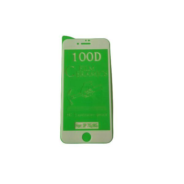 گلس گوشی آیفون 7 و آیفون 8 با پوشش کامل محافظ سرامیکی اصلی آیفون 7 انعطاف پذیر نشکن با چسب کامل محافظ صفحه نمایش نانو سرامیکی آیفون Original Nano Flexible Ceramic Full Coverage Screen Protector with Full Glue Anti Broken For Iphone 7/8