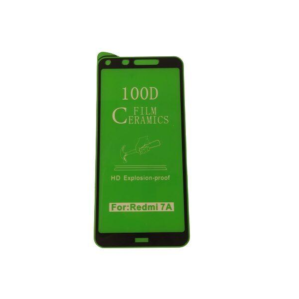 گلس گوشی شیائومی ردمی 7ا با پوشش کامل محافظ سرامیکی اصلی شیاومی redmi 7A انعطاف پذیر نشکن با چسب کامل محافظ صفحه نمایش نانو سرامیکی شیائومی Original Nano Flexible Ceramic Full Coverage Screen Protector with Full Glue Anti Broken For Xiaomi Redmi7A