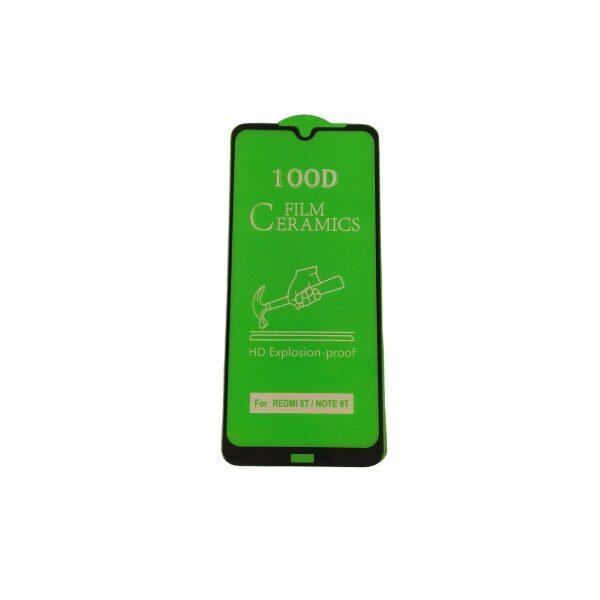 گلس گوشی شیائومی نوت 8 تی با پوشش کامل محافظ سرامیکی اصلی شیاومی ردمی نوت هشت نانو Note 8t گلس نوت 8 تی انعطاف پذیر نشکن با چسب کامل محافظ صفحه نمایش نانو سرامیکی شیائومی Original Nano Flexible Ceramic Full Coverage Screen Protector with Full Glue Anti Broken For Xiaomi redmi Note 8t/Note8t