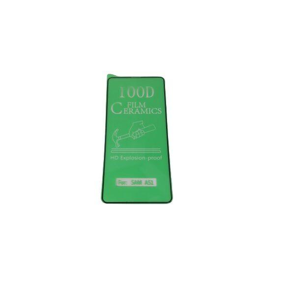 گلس گوشی سامسونگ M31S محافظ سرامیکی اصلی سامسونگ ام 31 اس انعطاف پذیر نشکن محافظ صفحه نمایش M31S نانو سرامیکی سامسونگ Original Nano Flexible Ceramic Full Coverage Screen Protector with Full Glue Anti Broken For Samsung M31S
