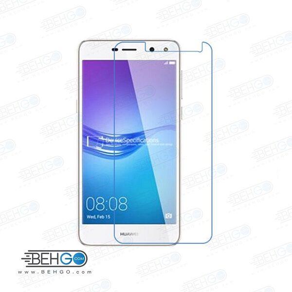 گلس y5 2016 بی رنگ و شفاف هواوی وای 5 دو یا ,y5 دو محافظ صفحه نمایش شیشه ای Glass Screen Protector huawei y5-2