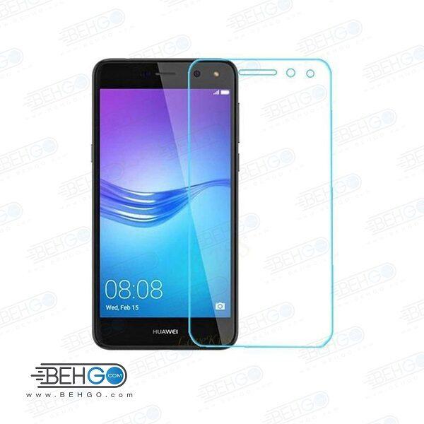 گلس y5 2017 بی رنگ و شفاف هواوی وای پنج 2017 یا ,y5 2017 محافظ صفحه نمایش شیشه ای Glass Screen Protector huawei y5 2017