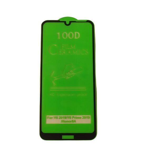 گلس y6 2019 با پوشش کامل محافظ سرامیکی اصلی هواوی وای شش 2019 نانو آنر 8 آ گلس انعطاف پذیر نشکن هواوی honor 8a با چسب کامل محافظ صفحه نمایش نانو سرامیکی هواوی Original Nano Flexible Ceramic Full Coverage Screen Protector with Full Glue Anti Broken For Huawei Y6 2019 / honor 8a
