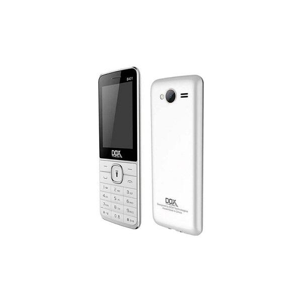 گوشی موبایل داکس مدل B401 سفید دو سیم کارت