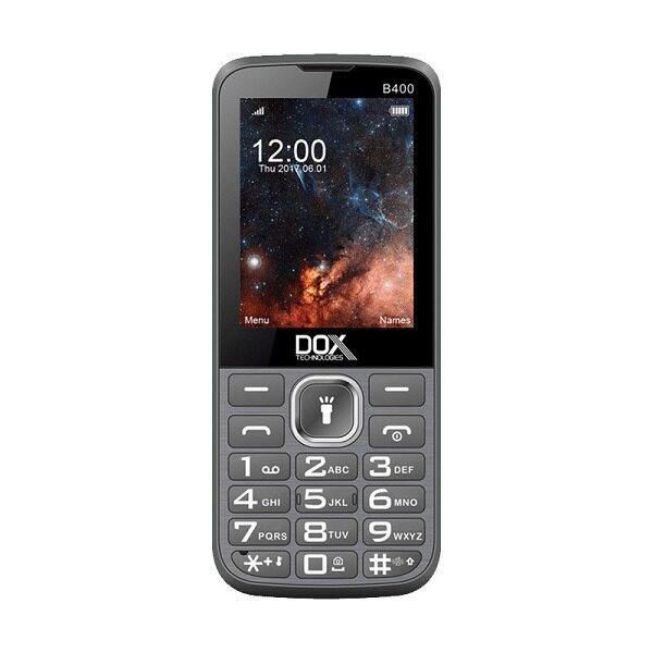 گوشی موبایل داکس مدل B400 مشکی دو سیم کارت
