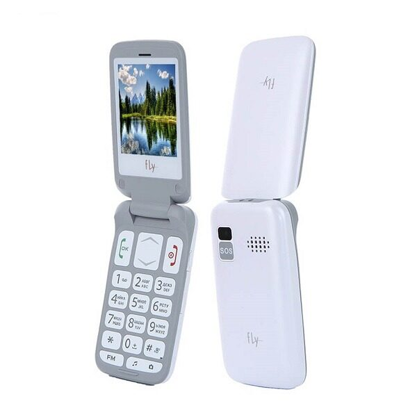 گوشی موبایل فلای مدل Ezzy Trendy 3 دو سیم کارت تاشو Fly Ezzy Trendy 3 Dual SIM Mobile Phone