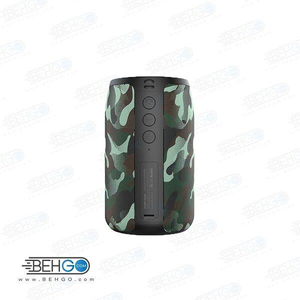 بلندگو یا اسپیکر اصلی بلوتوثی فلش خور AUX ،رم خور و قابل حمل با کیفیت مدل OUTDOOR WIRELESS Bluetooth Speaker ZEALOT MODEL S32
