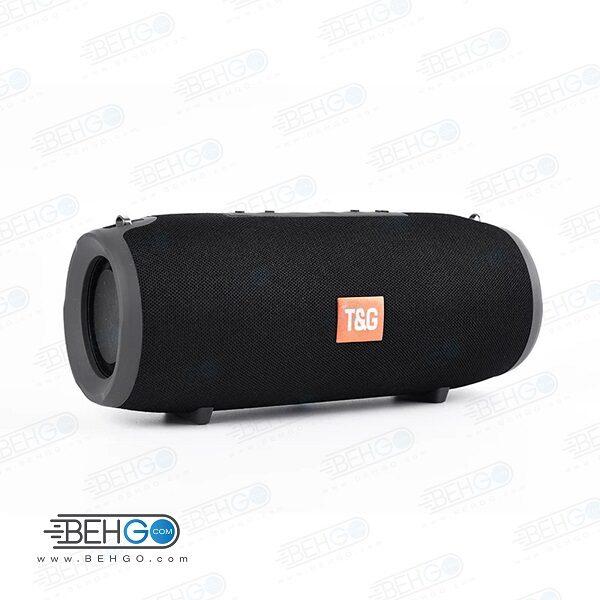 بلندگو یا اسپیکر اصلی بلوتوثی، فلش و مموری خور قابل حمل با کیفیت TG 118 Bluetooth Speaker