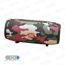بلندگو یا اسپیکر اصلی بلوتوثی، فلش و مموری خور قابل حمل با کیفیت T&G TG 125 Bluetooth Speaker