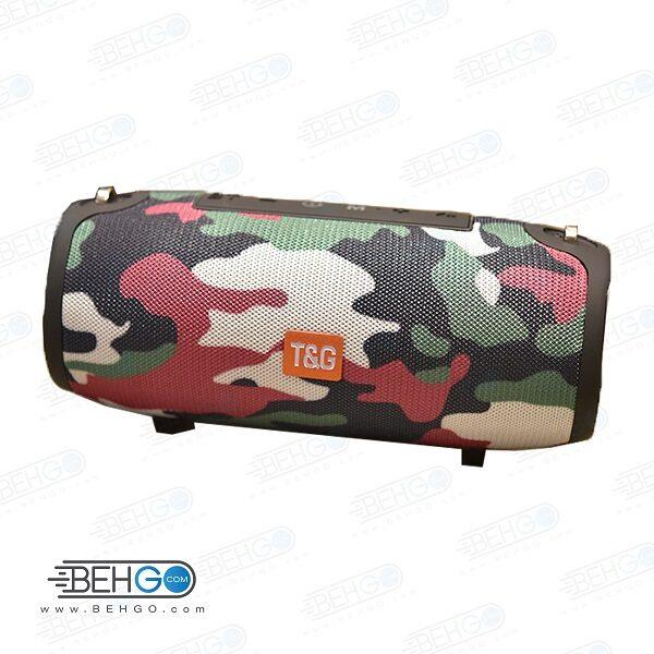 بلندگو یا اسپیکر اصلی بلوتوثی، فلش و مموری خور قابل حمل با کیفیت TG 125 Bluetooth Speaker