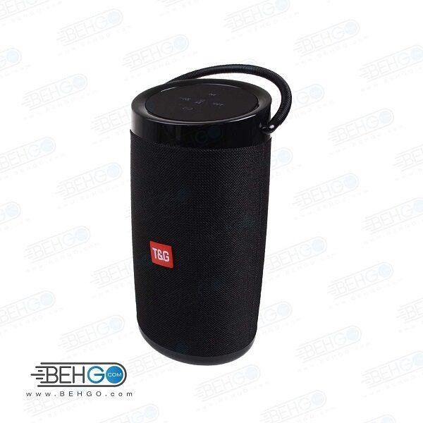 بلندگو یا اسپیکر اصلی بلوتوثی، فلش و مموری خور قابل حمل با کیفیت T&G TG 135 Bluetooth Speaker