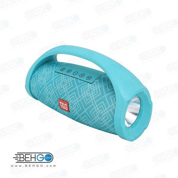 بلندگو یا اسپیکر اصلی بلوتوثی، فلش و مموری خور قابل حمل با کیفیت TG 136 Bluetooth Speaker