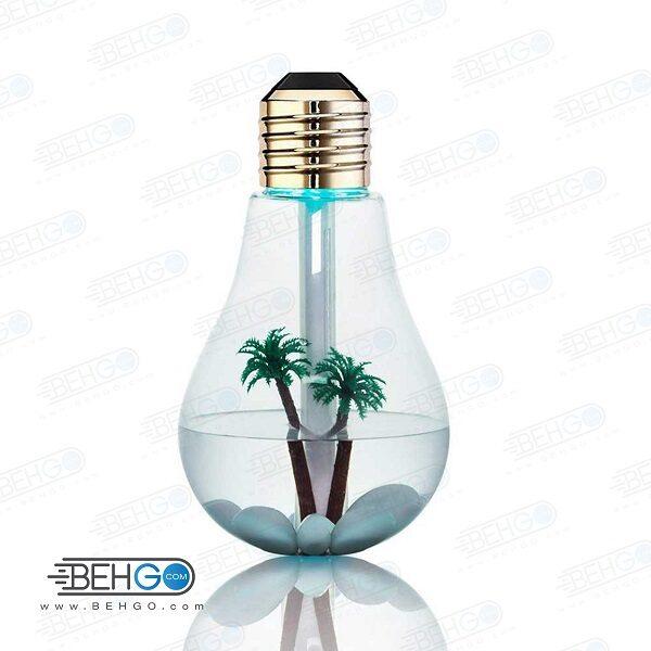 دستگاه بخور سرد مدل لامپی Mini night light BULB HUMIDIFIER