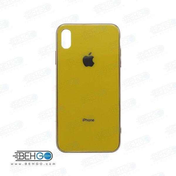 قاب آیفون ایکس اس مکس اصلی کیس پشت گلس یا شیشه ای ایفون Xs max اپل Original Glass Case For Apple iPhonexs max /iphone xs max