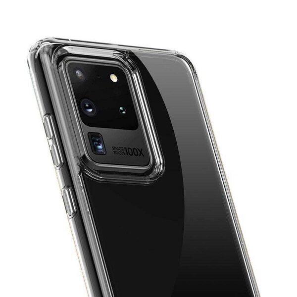 قاب سامسونگ S20 Ultra کاور ژله ای شفاف محافظ بی رنگ گوشی سامسونگ Clear Cover Case for samsung S20 Ultra