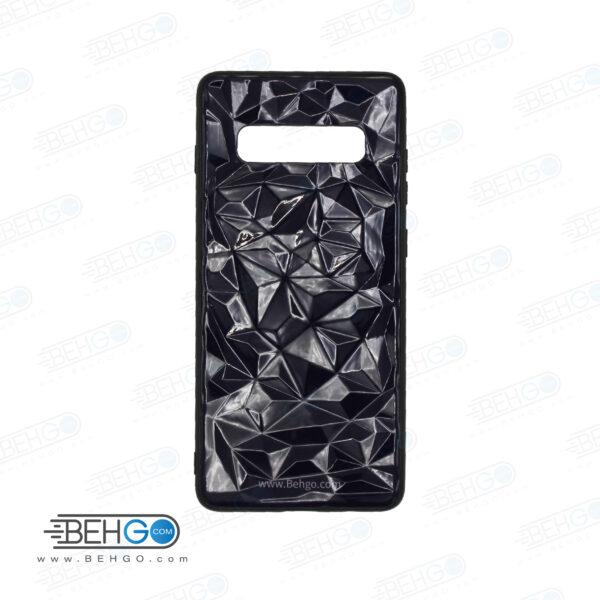قاب گوشی سامسونگ S10 plus مدل فانتزی رنگی سه بعدی S 10 plus کاور اس ده پلاس مناسب گوشی سامسونگ Best Luxury 3D Color Case for Samsung Galaxy S10 plus