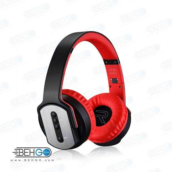 هدفون بی سیم sodo اصلی مدل mh2 دارای اسپیکر SODO MH2 Wireless Headphones