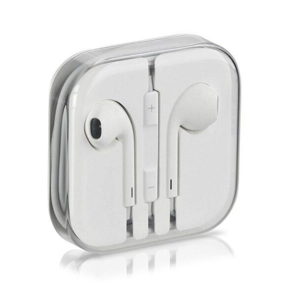 هندزفری آیفون 6 اپل با جک 3.5 میلی متری مناسب برای ایفون Apple iPhone 6, 5s, 6 plus, 6s plus