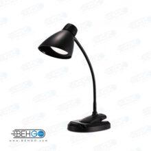 چراغ مطالعه گیره دار ریمکس با گردنی انعطاف پذیر و دارای استند گوشی Remax RT-E500 Dual use base and clip LED Lamp