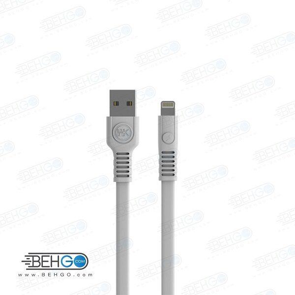 کابل اپل اصلی تبدیل یو اس بی به ایفون دبلیو کی WK WDC-066i