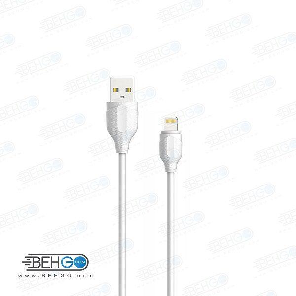 کابل شارژ سریع آیفون لایتنینگ مدل الدینیو Ldinio LS371 Fast charge lightning cable