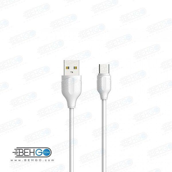 کابل شارژ سریع تایپ سی مدل الدینیو Ldinio LS371 type-c Fast charge cable