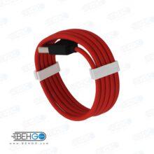 کابل شارژ سریع شارژ و سوپر شارژ تایپ سی مدل هیسکا Hiska BY-1 Fast and super charge cable