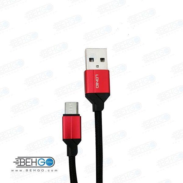 کابل شارژ سریع میکرو مدل الدینیو Ldinio LS391 Fast charge micro usb cable