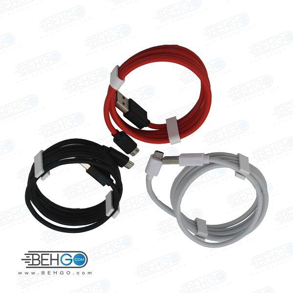کابل شارژ سریع و سوپر شارژ میکرو مدل هیسکا Hiska BY-1 Fast and super charge micro usb cable