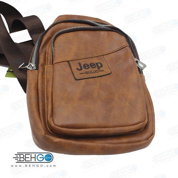 کیف مدارک، لوازم و کیف پاور بانک مدل جیپ 7209 کیف گردنی و دوشی JEEP 7209 Mobile Accessories Bag