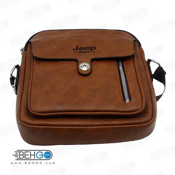 کیف مدارک، لوازم و کیف پاور بانک مدل جیپ jd-04 کیف گردنی و دوشی JEEP JD-04 Mobile Accessories Bag