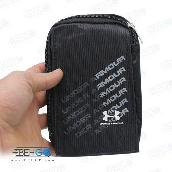کیف موبایل ، لوازم و کیف پاور بانک Under armour مدل گائولما کیف کمری Under Armour Gaolema Mobile Accessories Bag
