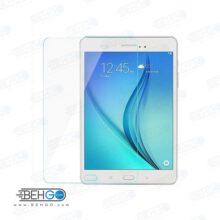 گلس تبلت tab A 2015 t350 هشت اینچ بی رنگ و شفاف یا محافظ صفحه نمایش شیشه ای تبلت Glass Screen Protector Samsung tab A 2015 t350 8 inch
